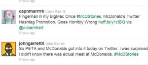 McDonald's Twitter Account Hijacked