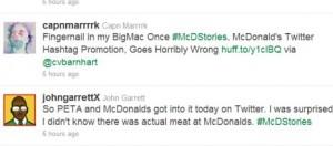 McDonald's Twitter Account Hijacked