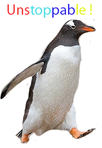 Penguin is unstoppable