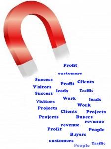 customer magnet copy
