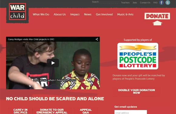 War Child - Charity for Children affected by War