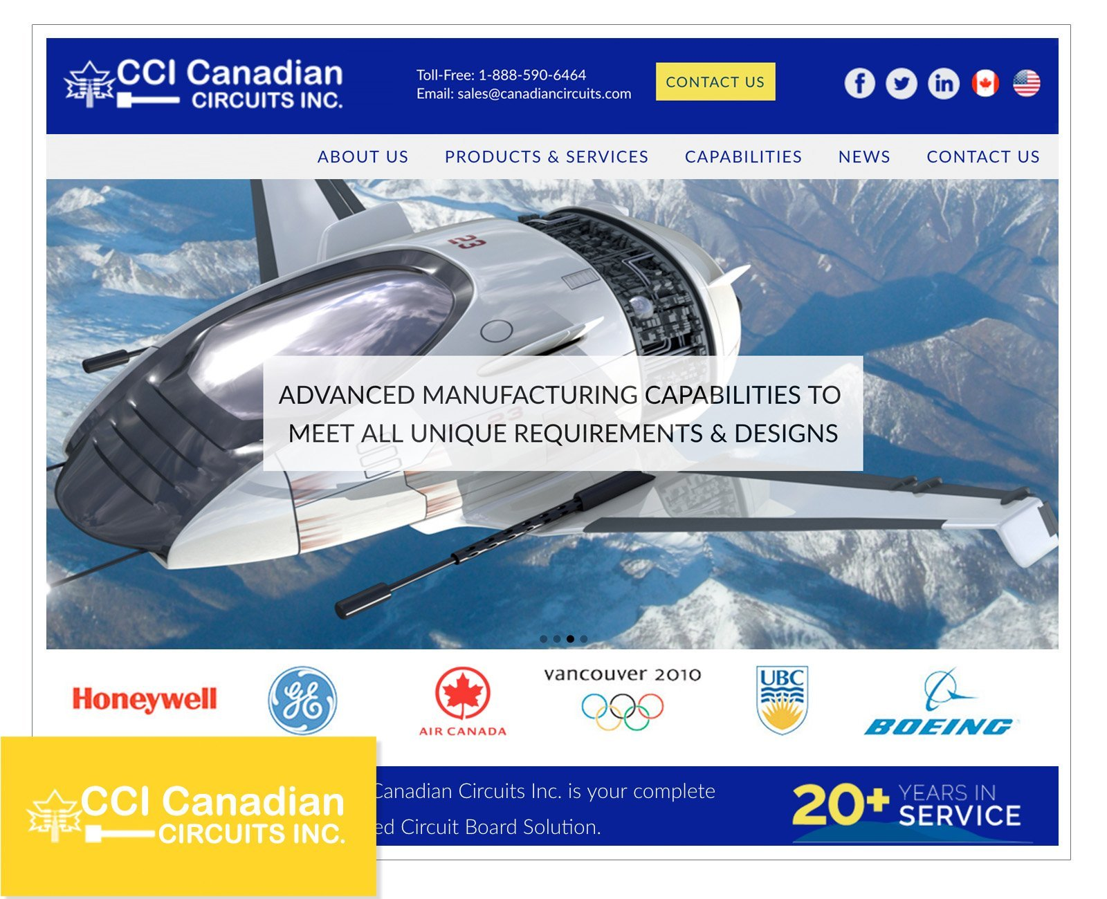 corporate web design vancouver