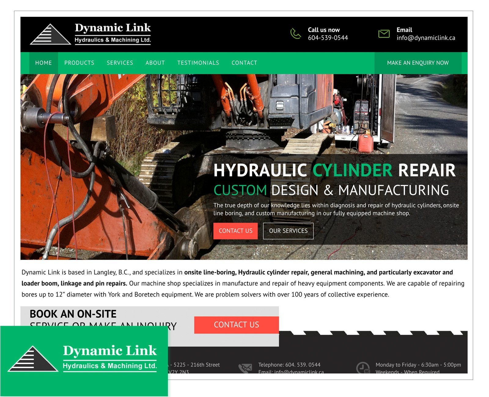 Manufacturing/Engineering Portfolio | Ivoryshore Web Design