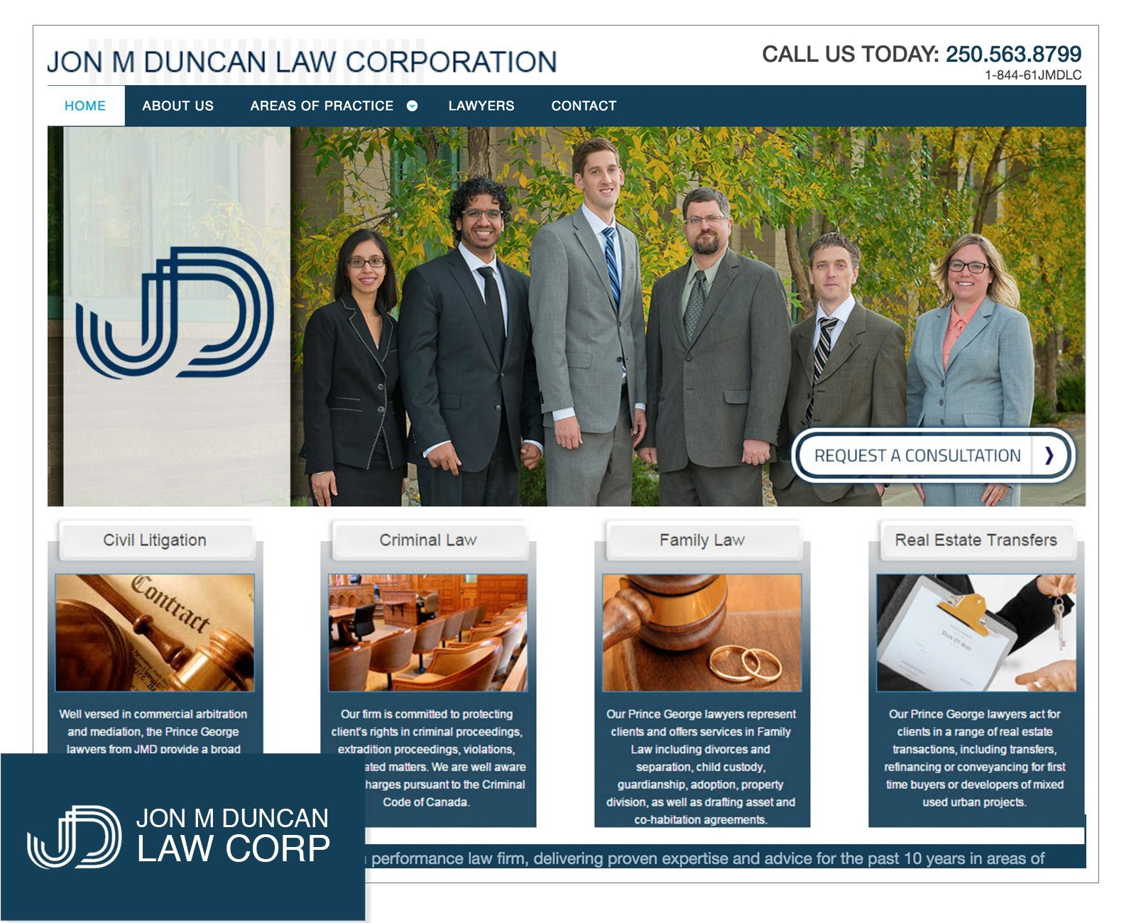 legal web design vancouver